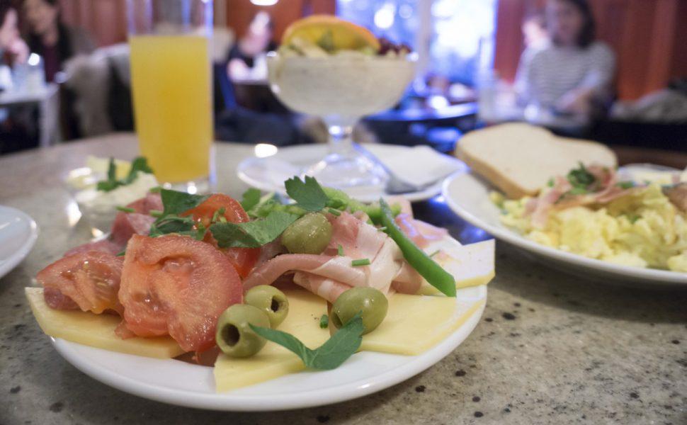 Frühstück im Café Elefant Agnesviertel Köln Vegetarisch Laktosefrei